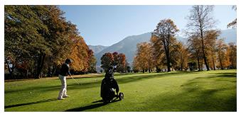 Golfplatz im Tessin