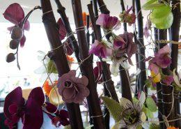 Blumen-Bouquet im Restaurant Stella