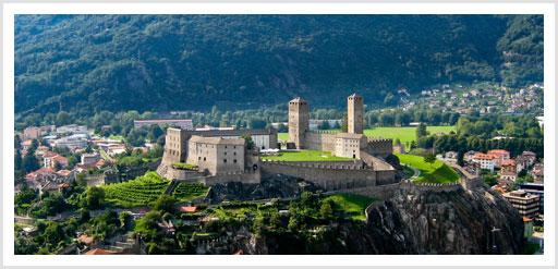 Castelgrande Burg in Bellinzona