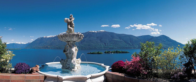 Brissago-Inseln im Lago Maggiore