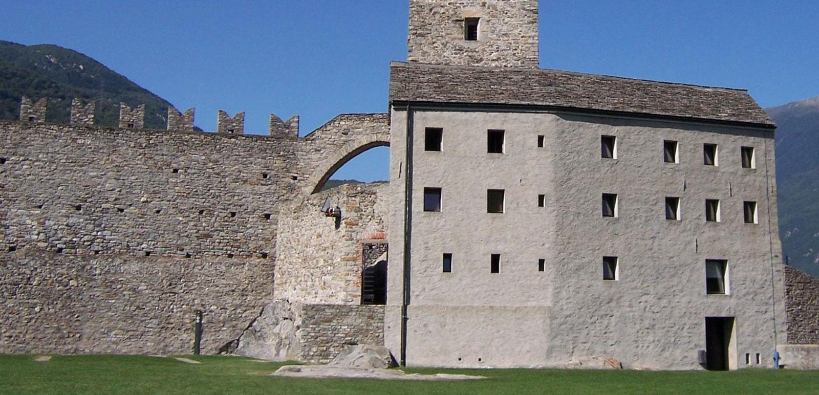 Burg in Bellinzona