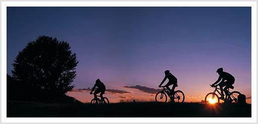 Mountainbiker im Tessin
