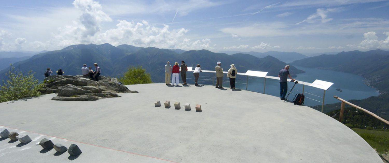Aussichtsplattform Cardada, Tessin