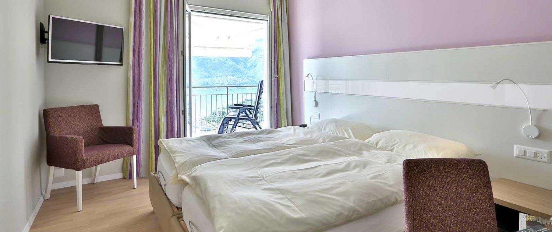 Chambre Lifestyle 199°, simple / double – Hotel Stella Orselina/Locarno