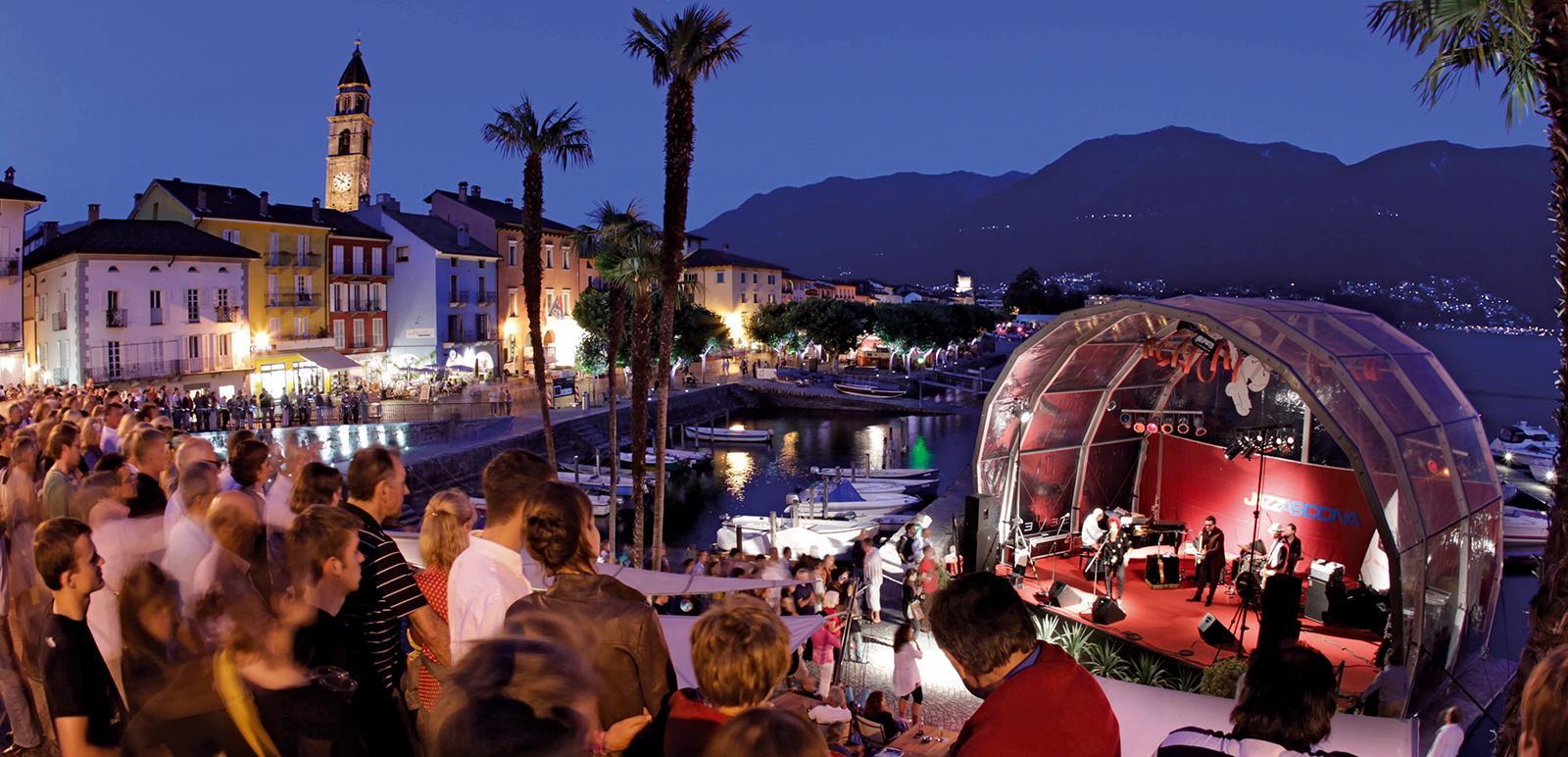 Jazzbühne am Quai in Ascona